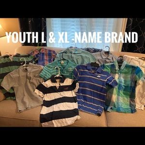 Youth L & XL name brand clothing